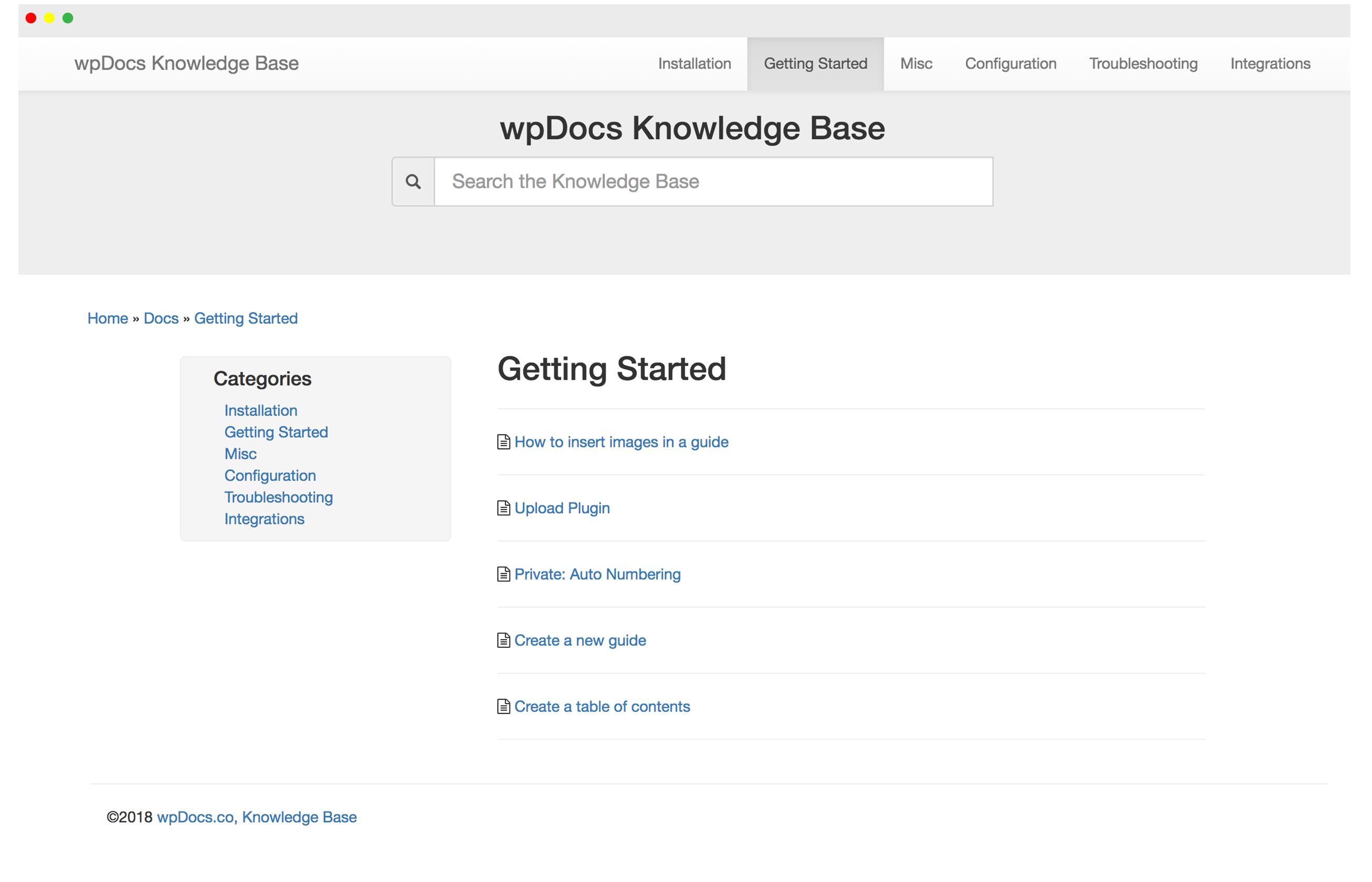 Wordpress Knowledge Base Software | WP Docs